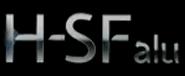Logo de H SF alu